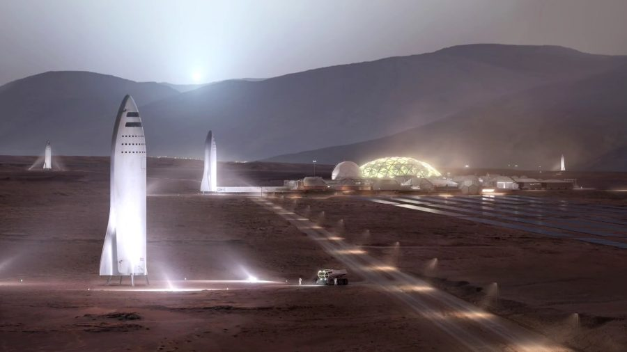 SpaceX Mars colonial transporter, SpaceX ITS, Interplanetary Transport System