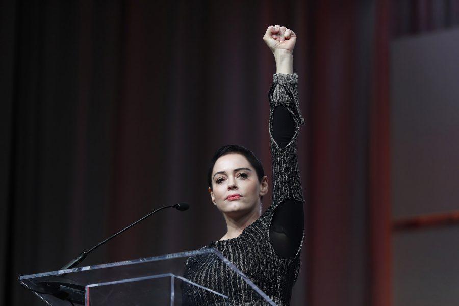 Women's Convention, Rose McGowan on Weinstein, Harvey Weinstein rape charges, Daryl Hannah