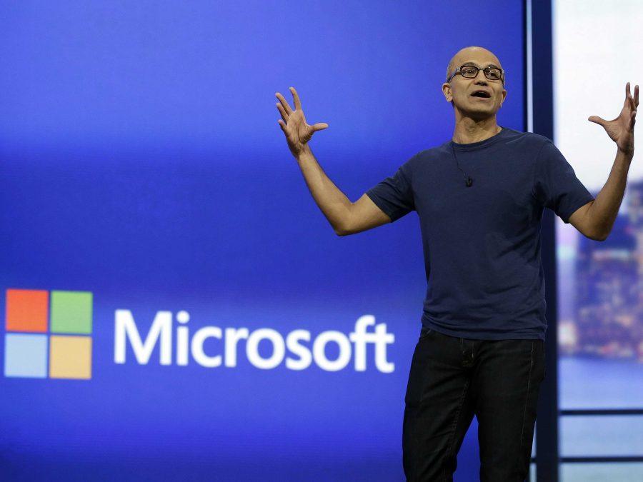 Microsoft Cloud, Satya Nadella, Microsoft revenue 2017
