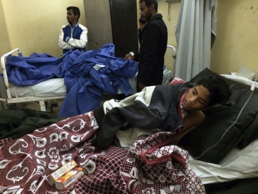 Mosque attack in Egypt, ISIS terrorist attack, Mosque attack