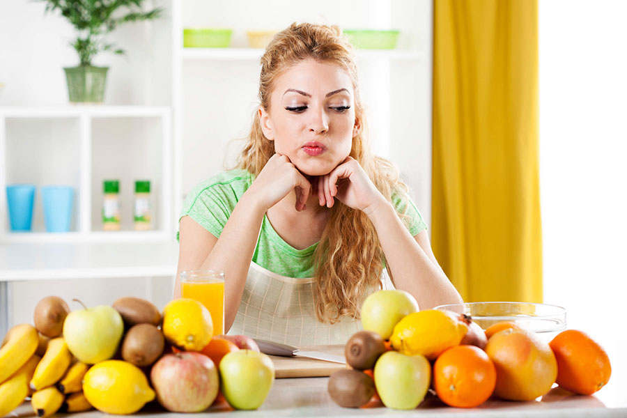 Americans eating habits, Fruits and vegetables, Fruit and vegetable consumption United States