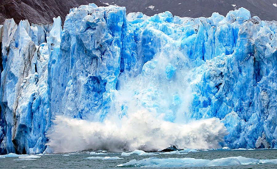 Climate change affecting glaciers, Antarctica's Ross Ice Shelf, Global warming
