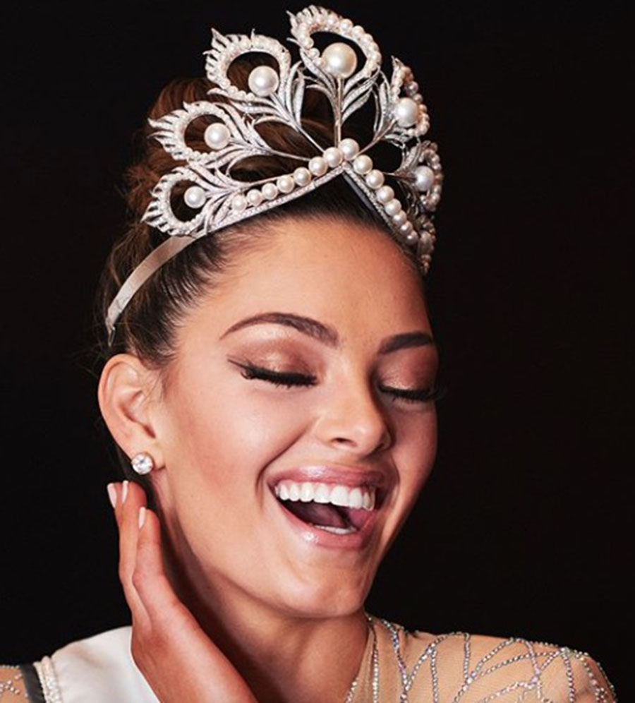 Mikimoto crown, 2017 Miss Universe, Self-defense, Davina Bennett, Demi-Leigh Nel-Peters, Miss Universe South Africa