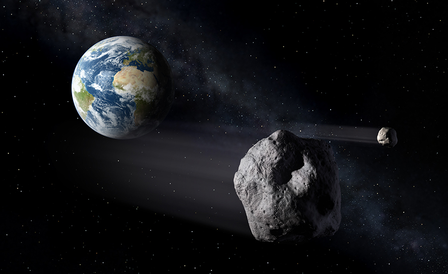 Recently spotted asteroid, NASA, The near-Earth 2017-YZ4