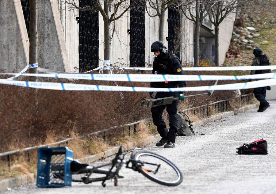 Varby Gard metro station explosion, Sweden, Stockholm, Grenade explosion in Stockholm, criminal groups, Yugoslav countries illegal weapons