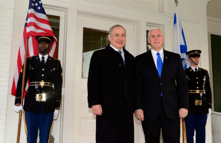 Donald Trump, Israel, Jerusalem, Mike Pence, Mike Pence visits Jerusalem, Mike Pence and Netanyahu, US recognizes Jerusalem as Israel's capital