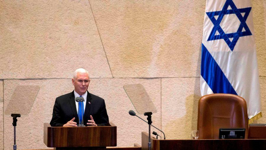 Donald Trump, Mike Pence, Jerusalem, Israel, Mike Pence visits Jerusalem, Mike Pence and Netanyahu, US recognizes Jerusalem as Israel's capital