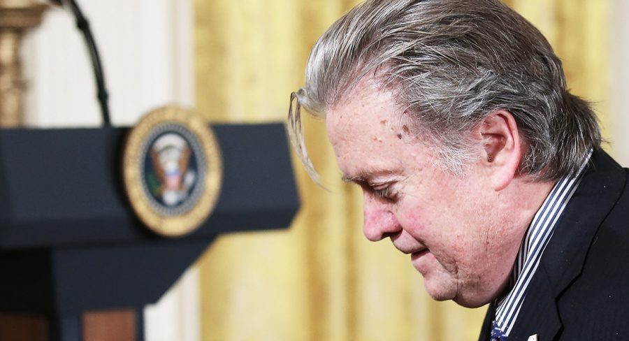 Stephen K. Bannon, Donald Trump, Michael Wolff, Donald Trump Jr., Trump mental stability, Fire and Fury: Inside the Trump White House, Bannon comments Wolff book, Bannon insultin Donald Trump Jr., Book Trump's presidency