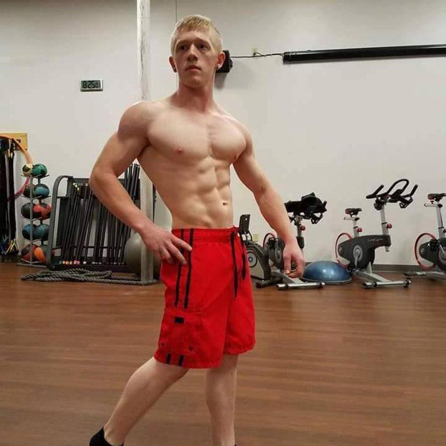 21-year-old bodybuilder, Latrobe, Pennsylvania, Kyler Baughman dies in holidays due to influenza
