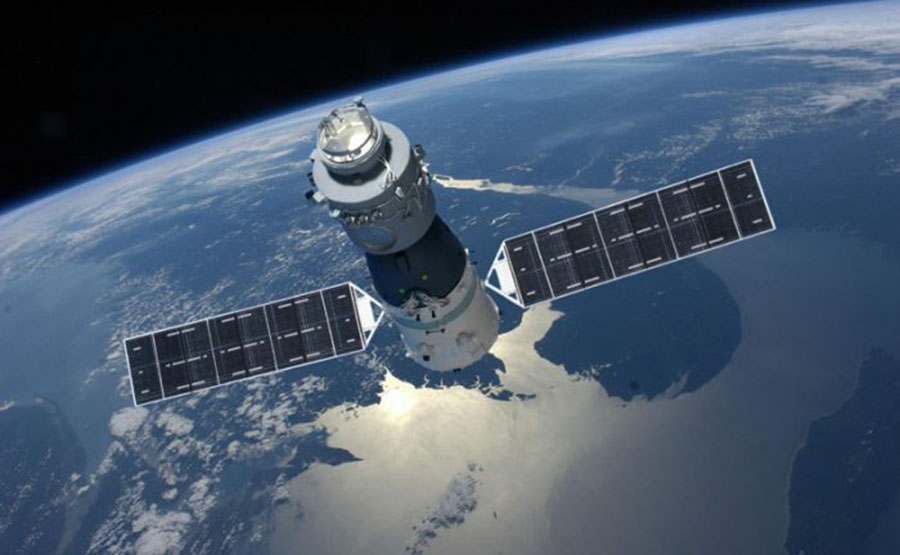Chinese space station orbiting without control, China's Tiangong-1, The American Aerospace Corporation