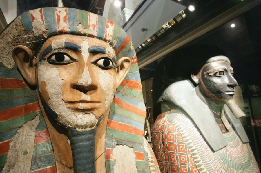 Mummies who shared mother but not father, Two mummies had same mother and different father, Nakht-Ankh and Khnum-Nakht, Tomb of Two Brothers