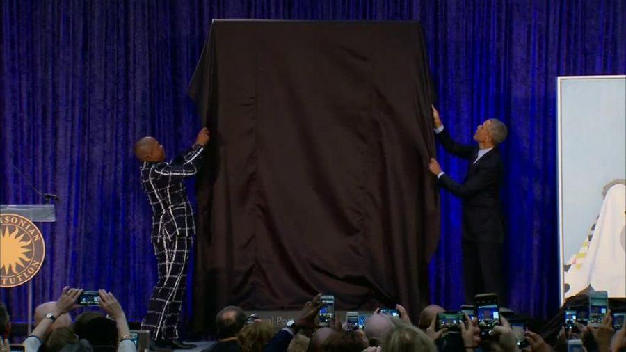 Barack Obama, Michelle Obama, amy sherald, National portrait gallery