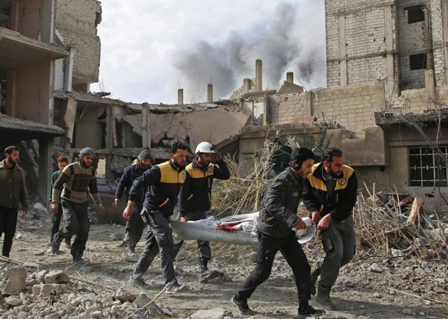 Syria dubbed United States attack as war crime, several deaths and injuries, Syrian democratic forces and pro-regimen forces