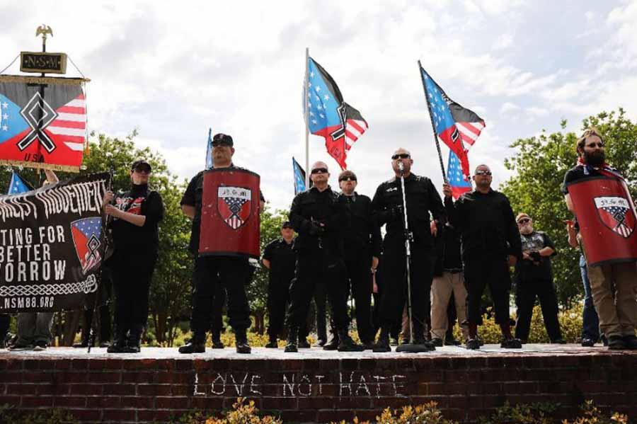 Nazism, Neo-Nazism, Newnan, Georgia