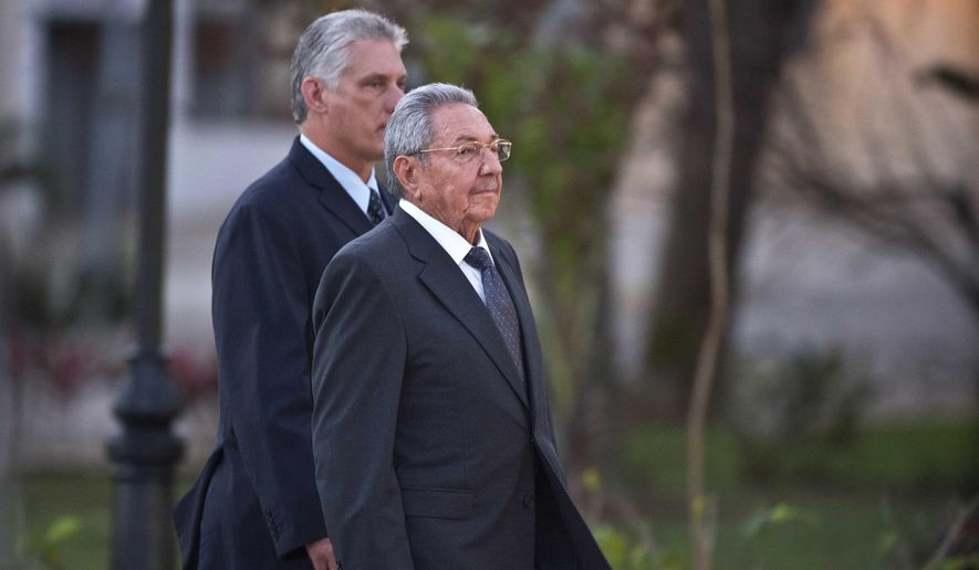 Miguel Díaz-Canel, Raúl Castro, Fidel Castro, President of Cuba