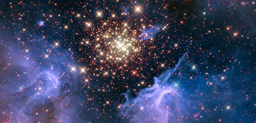 NASA, fireworks, stars