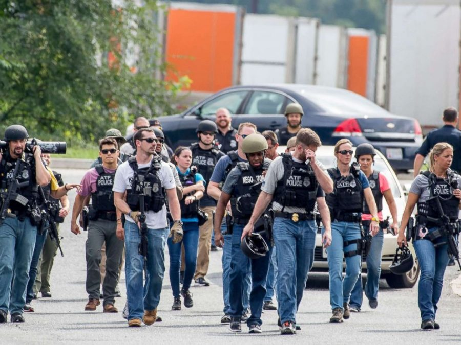 Local Authorities, ATF, and the FBI were on the crime scene. Image Credit: ABC