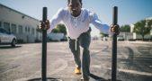 Man Exercising Outdoor