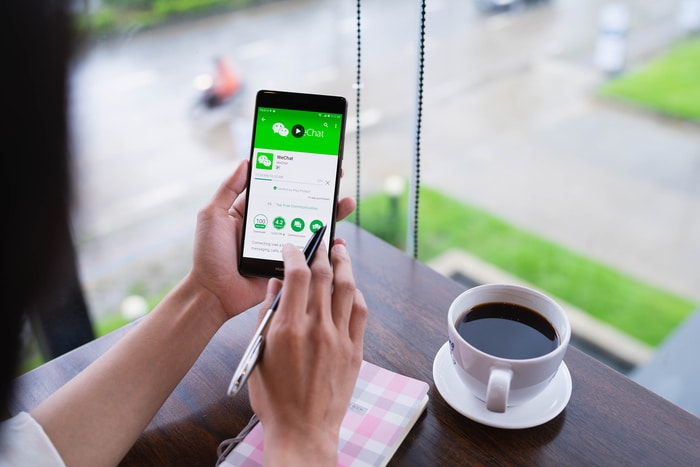 Asian Payment App WeChat