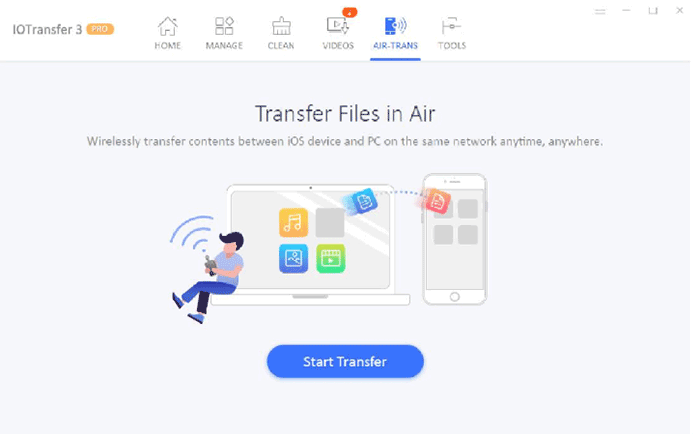 IOTransfer 3: file transfer between iOS, PC and more
