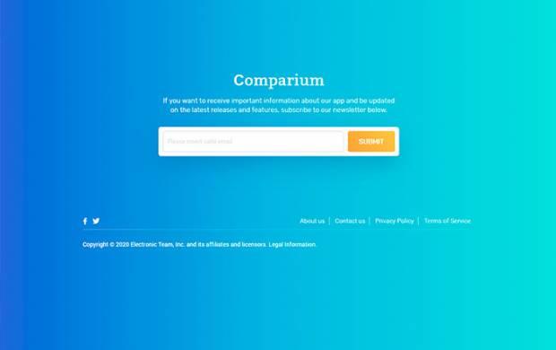 Test Your Website with Comparium Application