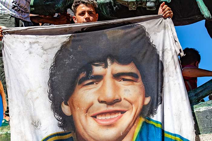 Vijay Eswaran and PJ City FC Pay a Heartfelt Tribute to the Late Diego Maradona
