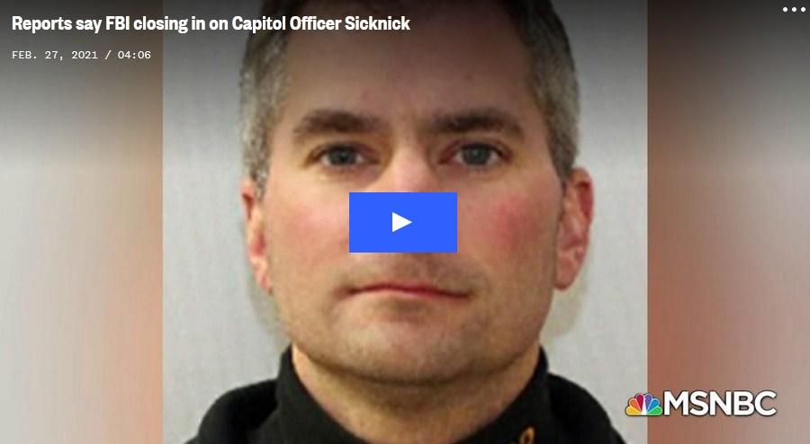 FBI Identifies Person of Interest in a Federal Case Regarding Death of Brian Sicknick