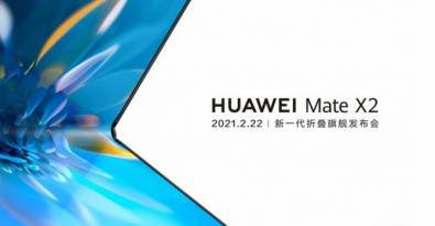Huawei's New Foldable Smartphone, Mate X2, to Launch on February 22; Screen Folds Inward