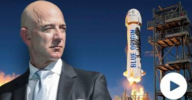 Mystery Man Pays $28 Million at Auction to Travel to Space with Jeff Bezos on July 20
