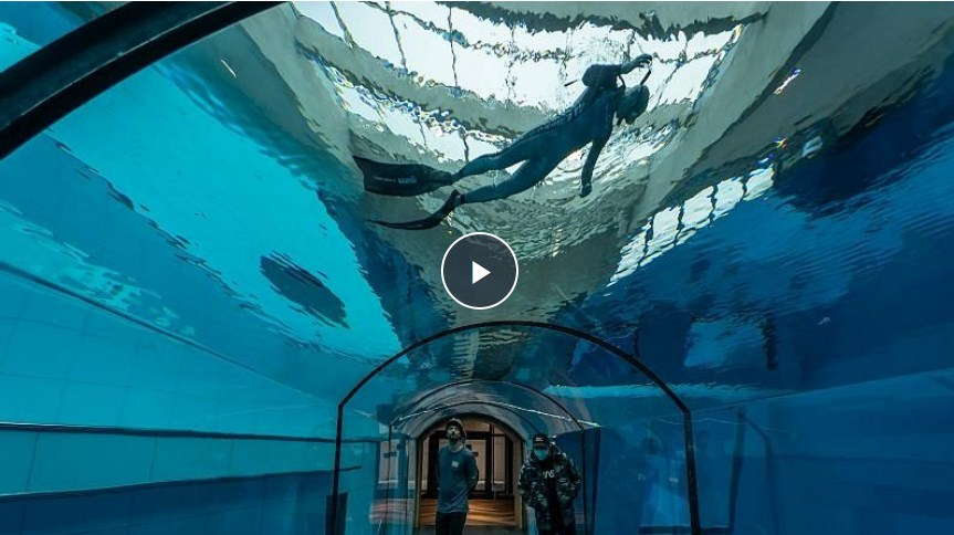 Deep Dive Dubai – the Deepest Dive Pool in the World – Opens in Dubai