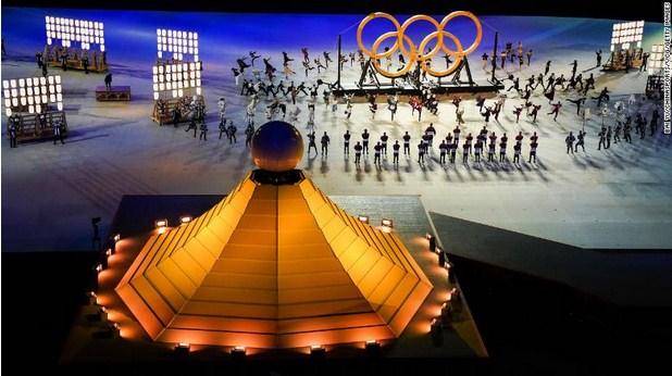 Naomi Osaka Lights Tokyo Olympic Cauldron; Lady Jill Biden Attends