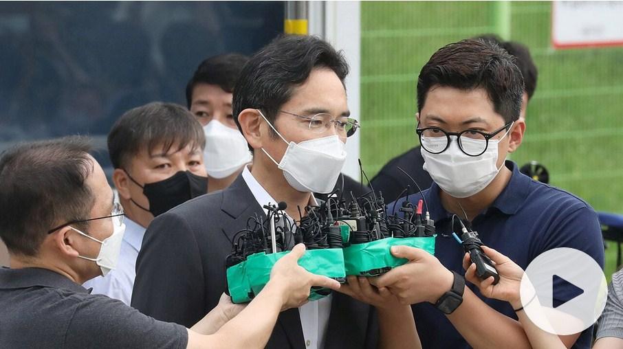 Samsung Heir, Lee Jae-Yong, Released On Parole from Prison for National Interest Sake