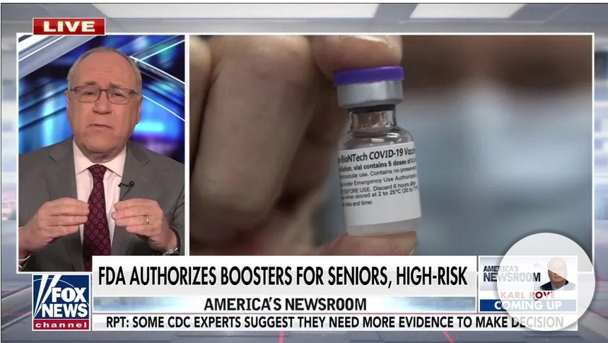 CDC Director Overrules Advisory Panel, Recommends Booster Shots for Frontline Workers