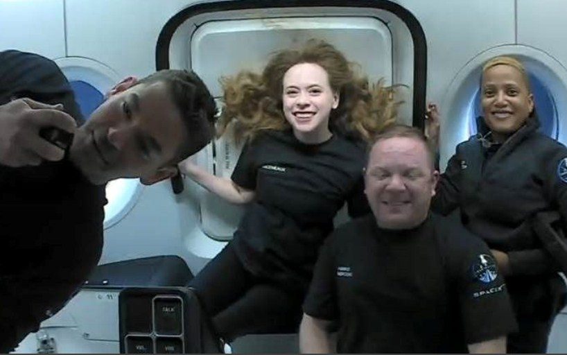 Four Civilian Astronauts aboard SpaceX's Spacecraft Due for Return to Earth