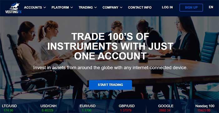 VESTINGFX Review: Take Advantage of the Forex Market